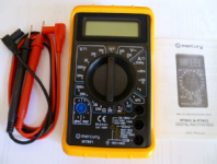 Digital Test multi-meter <br>ALT/MM-MTB01-06